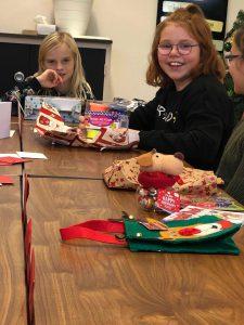 Kerstfeestje in de klas
